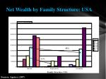net wealth by family structure usa