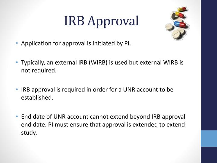 IRB Approval