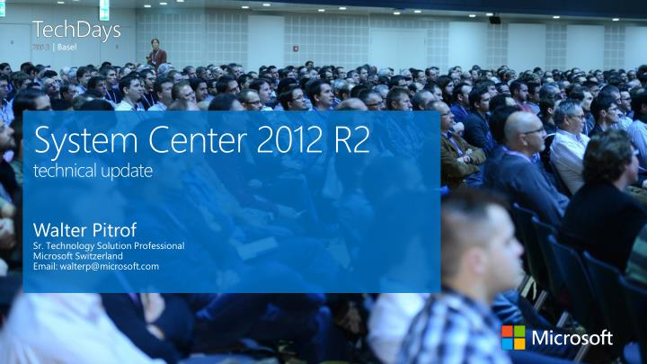system center 2012 r2 technical update n.