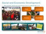 social and economic d evelopment