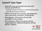 commit core team