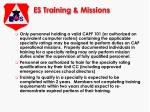es training missions12