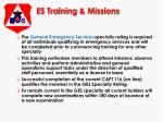 es training missions13