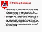 es training missions15