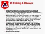 es training missions16