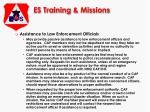 es training missions5