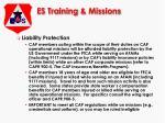 es training missions6