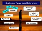 challenges facing local enterprises