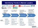identifying trends market leaders