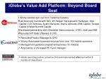 iglobe s value add platform beyond board seat