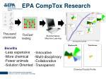 epa comptox research