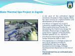 blato thermal spa project in zagreb