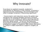 why innovate2