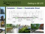 complete green sustainable street