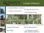 location efficiency