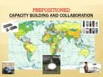 prepositioned capacity building and collaboration