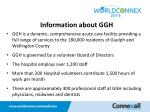 information about ggh