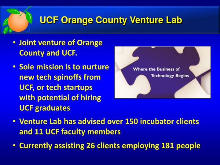 UCF Orange County Venture Lab