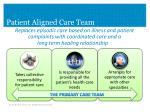 patient aligned care team