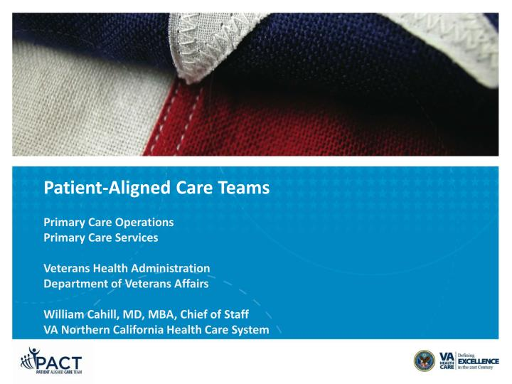 patient aligned care teams n.