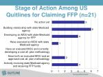 stage of action among us quitlines for claiming ffp n 21