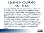leasing in colorado post tabor2