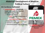 historical development of mexican political culture4