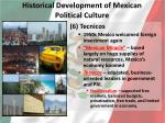 historical development of mexican political culture5