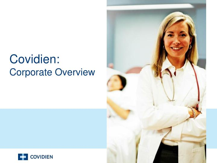 covidien corporate overview n.
