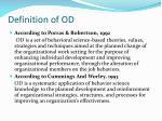 definition of od1