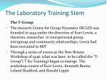 the laboratory training stem1