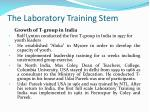 the laboratory training stem5
