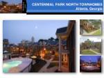 centennial park north townhomes atlanta georgia