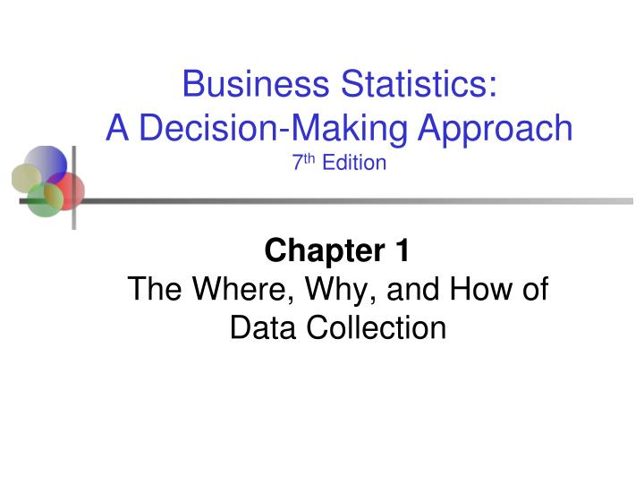 chapter 1 the where why and how of data collection n.