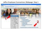 jeffco employee connections webpage step 1