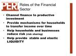 roles of the financial sector3