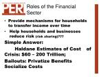 roles of the financial sector6