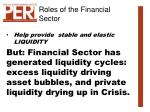 roles of the financial sector9