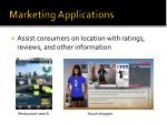 marketing applications