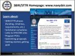 sbir sttr homepage www navysbir com