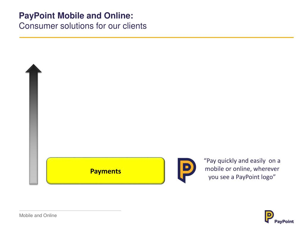 PPT - PayPoint Mobile and Online PowerPoint Presentation - ID:1663210