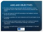 aims and objectives1
