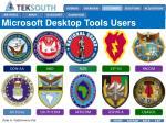 microsoft desktop tools users
