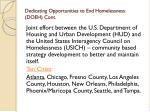 dedicating opportunities to end homelessness doeh cont