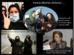 iranian women activists