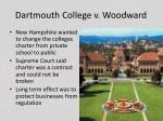 dartmouth college v woodward