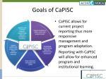 goals of capisc