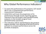 why global performance indicators