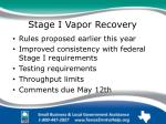 stage i vapor recovery