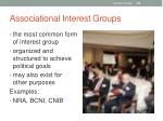 associational interest groups